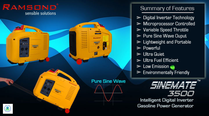 Inverter-generator-Features
