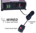 SunRay Inverter WIRED Remote Starting Kit