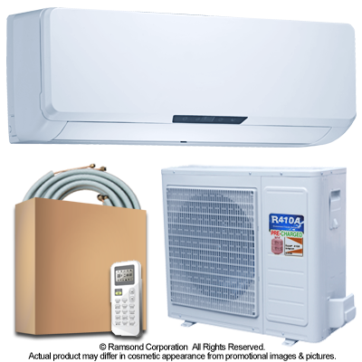 Ramsond 55GWi 18000 BTU 17 6 SEER Ductless Mini Split AC + Heat Pump