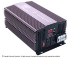 Refurbished  SunRay 3000 Pure Sine Wave Power Inverter - 12V DC to 115V AC (60Hz) - 3000W Rated Output