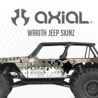 Axial Wraith Jeep Body sKinz