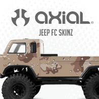 Axial Jeep FC sKinz