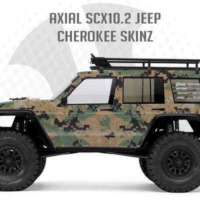 Axial Scx10 2 Jeep Cherokee Skinz Freqeskinz Com