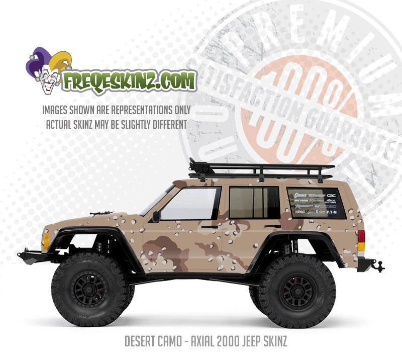 Axial SCX10-2 Jeep Cherokee sKinz