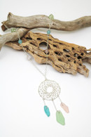 Sterling Dreamcatcher Necklace