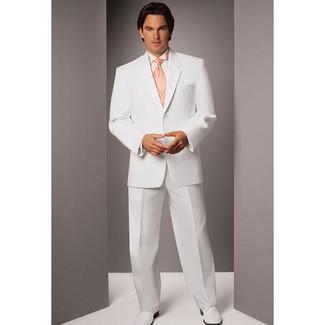 Jean Yves Mystique White Tuxedo