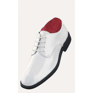 After Six Radio City White Tuxedo Shoes