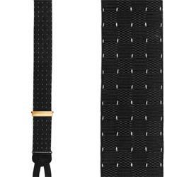 Pindot Formal Suspenders - Formal Silk Pindot Braces by Trafalgar