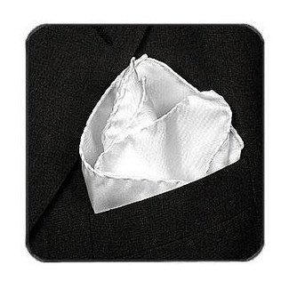 Deluxe Satin Formal Pocket Square