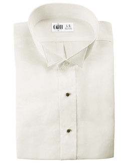 Ivory Lucca Wingtip Tuxedo Shirt by Cardi