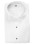 AldoTuxedo Shirt - Pleated with Wingtip Collar by Cardi