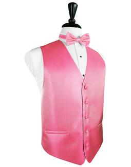 BubbleGum Tuxedo Vest