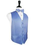 Cornflower Blue Tuxedo Vest
