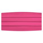 Satin Hot Pink Cummerbund