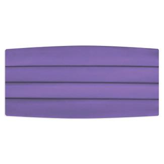 Satin Porto Lavender Cummerbund