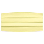 Satin Yellow Cummerbund