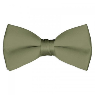 Tuxedo Bow Tie in Fino Celedon