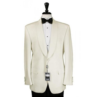 Cardi Ivory Shawl Dinner Jacket