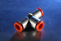 Tee, Intermediate, 10mm-10mm-10mm