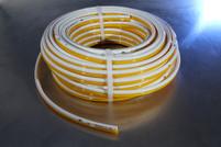 "8mm (5/16"") Yellow/White Bonded Polyurethane Tubing"