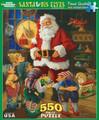 Santa & His Elves 550 Piece Jigsaw Puzzle