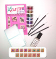 Glittertoos Glitter Tattoo Kit Love Peace & Happiness