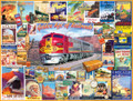 GOLDEN AGE OF RAILROADS 1000 Piece Jigsaw Puzzle