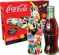 COCA COLA BOTTLE 2 Sided Die Cut 600 Piece Jigsaw Puzzle