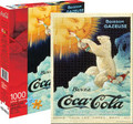 COCA COLA and POLAR BEAR 1000 Piece Jigsaw Puzzle