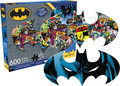 BATMAN 2 Sided Die Cut 600 Piece Jigsaw Puzzle