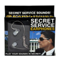 Secret Service Agent Ear Buds Head Phones