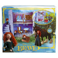 Disney Brave Castle and Forest Playset with Merida and Angus