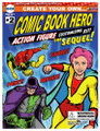 Create Your Own COMIC BOOK HERO Action Figure Customizing Kit