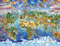 WORLD MAP 60 Piece Jigsaw Puzzle