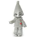 """Precious Moments Tin Man Heart Of Silver 7"""" Wizard of OZ Collectible Figure"""