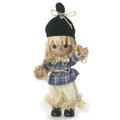 """Precious Moments Scarecrow Clever As Can Be 7"""" Wizard of OZ Collectible Figure"""