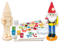 Paint Your Own Gnome Wood Craft Kit by Works Of Ahhh...