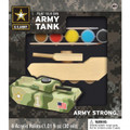 Paint Your Own Wood Army Tank Craft Kit by Works of Ahhh...