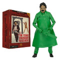 """Texas Chainsaw Massacre Leather Face 7"""" Action Figure Classic Video Game Green"""