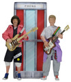 "Bill & Ted's Excellent Adventure 8"" Wyld Stallyns 2 Action Figure Set"