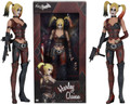 "HARLEY QUINN from Batman Arkham City 1/4 Scale 18"" Collectible Action Figure"