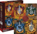 "HARRY POTTER CRESTS 1000 Piece Jigsaw Puzzle 20"" X 28"""
