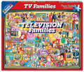 TELEVISION FAMILIES 1000 Piece Classic Collectible Jigsaw Puzzle