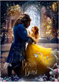 Disney's BEAUTY AND THE BEAST Dancing 550 Piece Collectible Jigsaw Puzzle