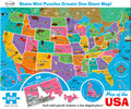 "Giant Map of the USA 850 Piece Jigsaw Puzzle 24"" X 36"""