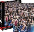 "WWE WRESTLING SUPERSTAR CAST 1000 Piece Jigsaw Puzzle 20"" X 28"""