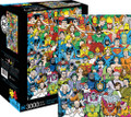 "DC COMICS RETRO LINE UP 3000 Piece Jigsaw Puzzle 32"" X 45"""