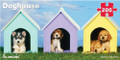 Mini Panoramic Doghouse 200 piece jigsaw puzzle