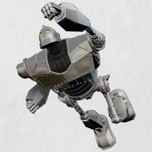 All Metal Ornament Iron Giant