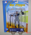 Rare MLB Series 1 REPLAYS Derek Jeter Road Action Figure